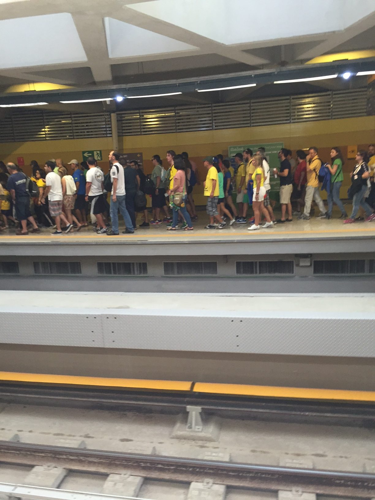 Photo of Olimpíadas no Metrô: Thi-ago-Braz!