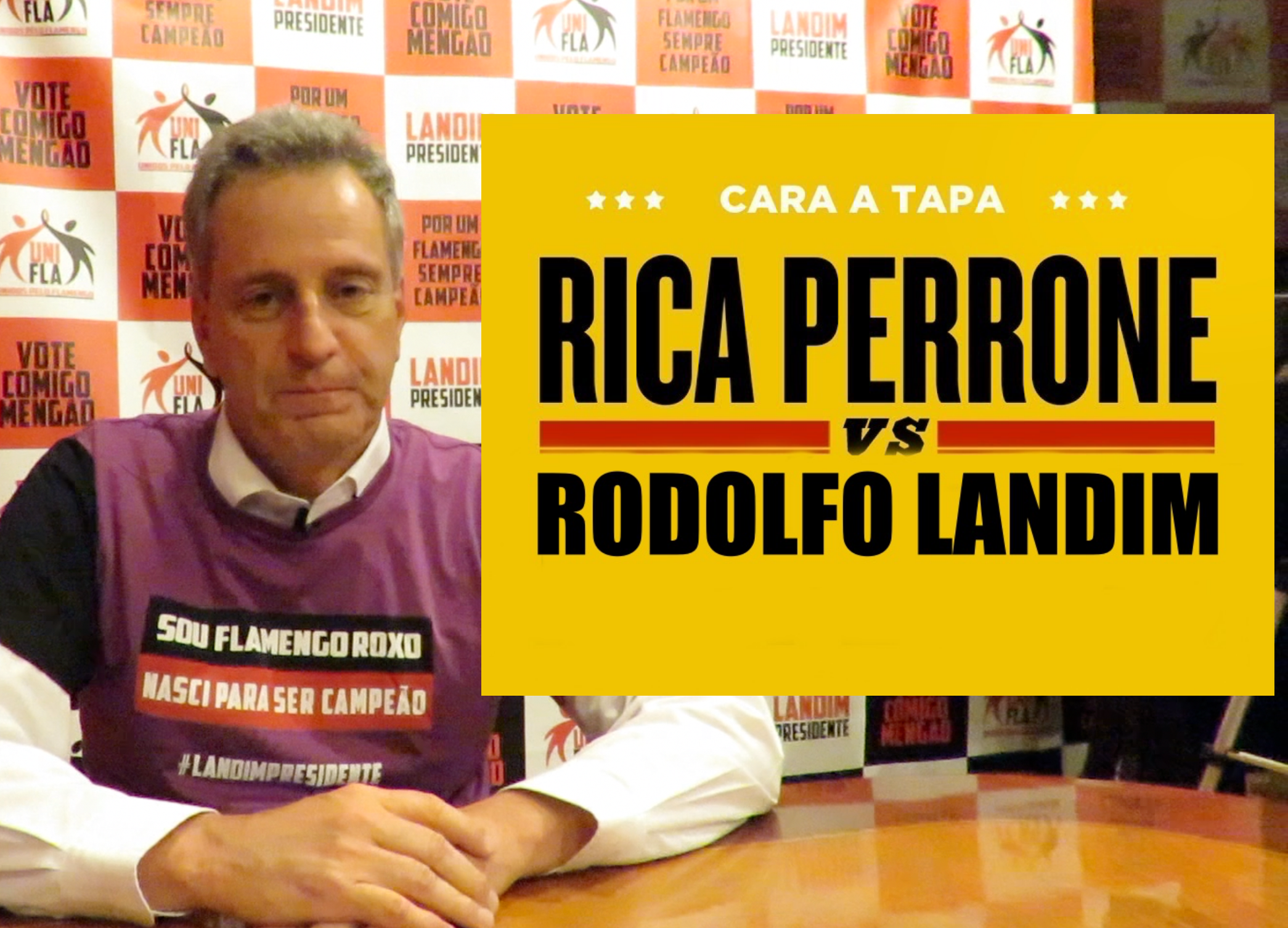 Photo of Cara a Tapa – Rodolfo Landim
