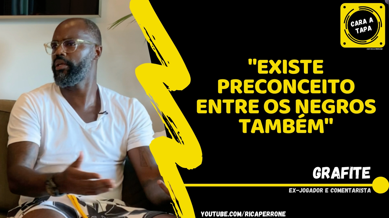 "Photo of Grafite: ""Existe preconceito entre os negros também"""