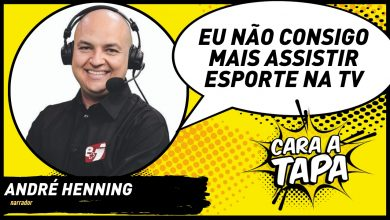 Photo of André Henning no Cara a Tapa