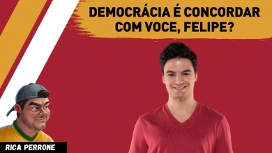 "Photo of Felipe Neto resolve impor suas idéias e pede ""democracia""?"
