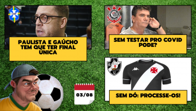 Photo of Estaduais junto do Brasileirão / Corinthians e o teste do covid / Centauro vaza camiseta do Vasco